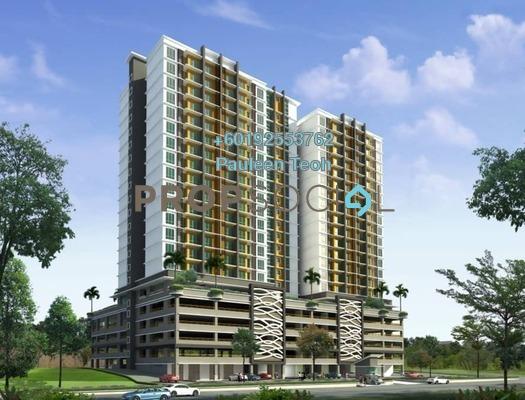 Condominium For Sale in Sunway Rydgeway, Melawati Freehold Semi Furnished 3R/2B 464k