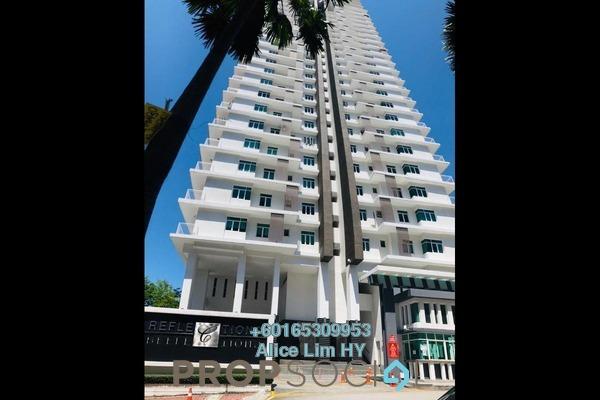 Condominium For Sale in Reflections, Sungai Ara Freehold Semi Furnished 3R/2B 610k