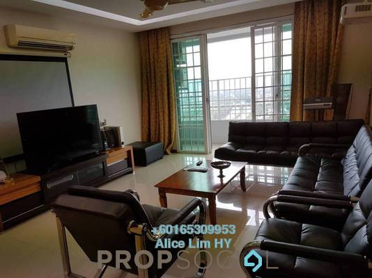 Condominium For Rent in BaysWater, Gelugor Freehold Fully Furnished 3R/2B 2.3k