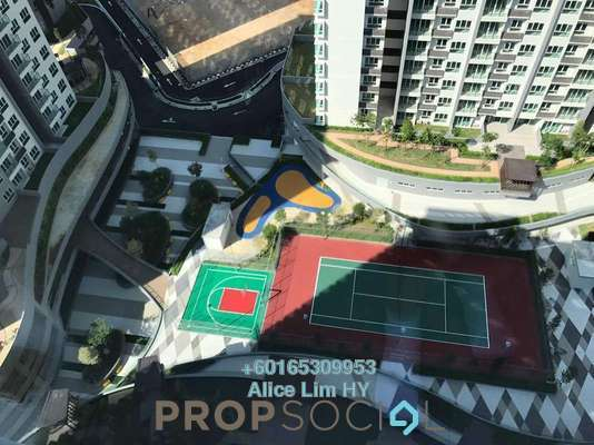 Condominium For Sale in Tropicana Bay Residences, Bayan Indah Freehold Unfurnished 3R/2B 599k