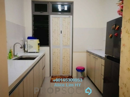 Condominium For Sale in All Seasons Park, Farlim Freehold Fully Furnished 3R/2B 479k