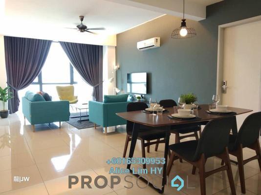 Condominium For Rent in Jazz Residence, Seri Tanjung Pinang Freehold Fully Furnished 2R/3B 3.4k