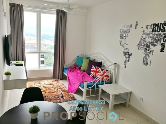 Condominium For Rent in Mansion One, Georgetown Freehold Fully Furnished 1R/1B 2.2k