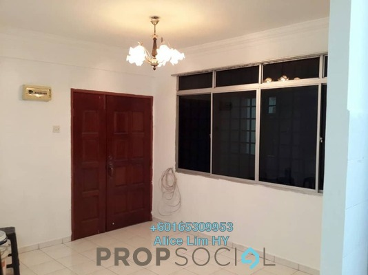 Condominium For Sale in Jade View, Bukit Gambier Freehold Semi Furnished 3R/2B 329k