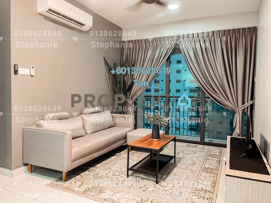 Serviced Residence For Rent in KL Traders Square, Kuala Lumpur Freehold Fully Furnished 3R/2B 1.75k