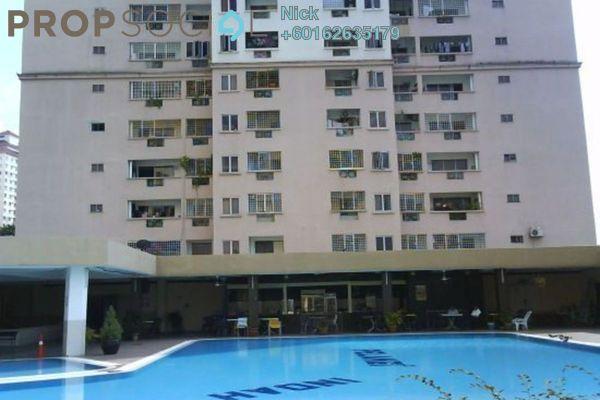 Apartment For Rent in Taman Pelangi Indah, Ulu Tiram Freehold Unfurnished 3R/2B 1.1k