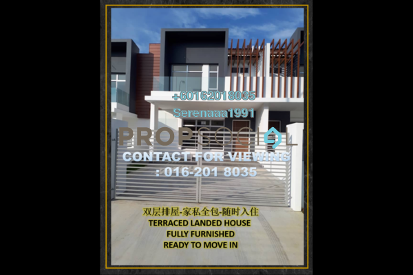 Terrace For Sale in Setia Eco Gardens, Gelang Patah Freehold Fully Furnished 4R/3B 688k