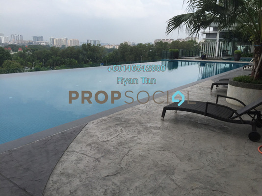 Serviced Residence For Rent in Desa Green Serviced Apartment, Taman Desa Freehold Semi Furnished 3R/2B 1.5k