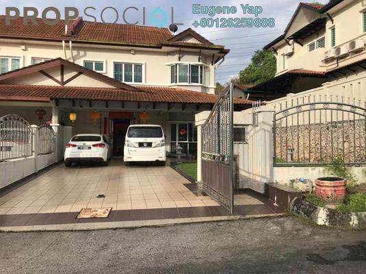 Semi-Detached For Sale in Seri Aman Heights, Sungai Buloh Freehold Fully Furnished 4R/3B 1.05m