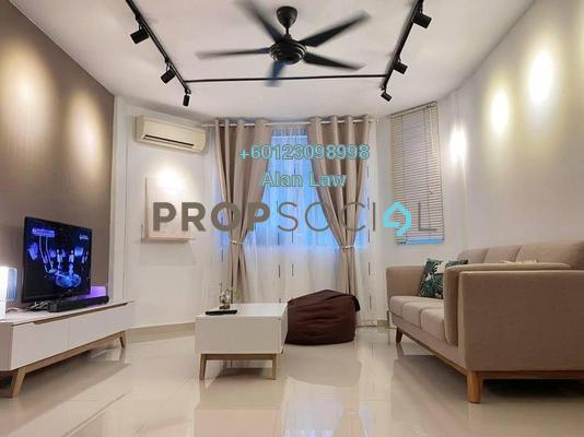 Apartment For Sale in Rampai Court, Setapak Freehold Fully Furnished 2R/1B 290k