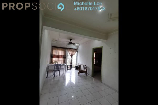 Apartment For Sale in Taman Tampoi Indah, Johor Bahru Leasehold Unfurnished 3R/2B 165k