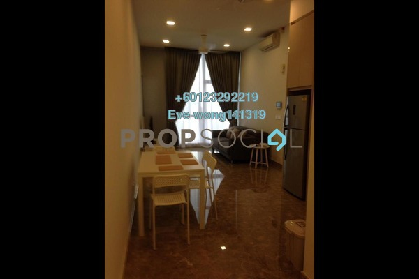 Serviced Residence For Rent in Laman Ceylon, Bukit Ceylon Freehold Fully Furnished 1R/1B 2.2k