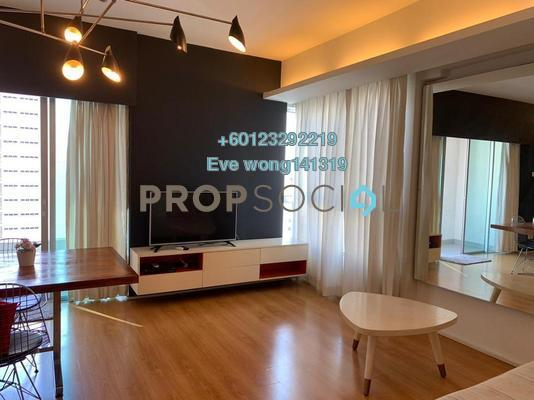 Condominium For Sale in i-Zen Kiara I, Mont Kiara Freehold Fully Furnished 3R/3B 950k