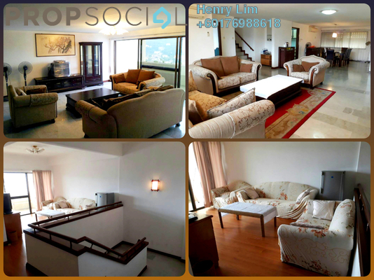 Duplex For Rent in GCB Court, Ampang Hilir Freehold Fully Furnished 4R/4B 4k