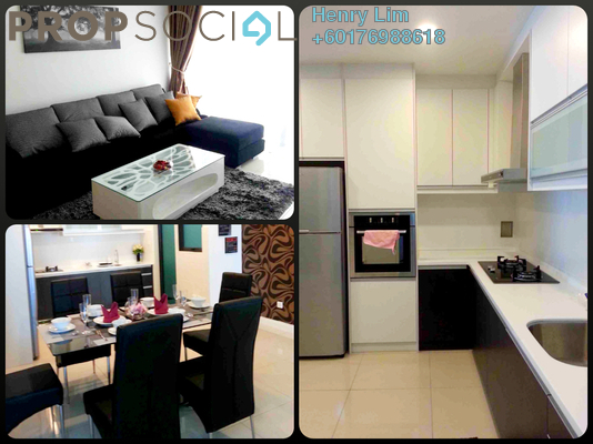 Serviced Residence For Rent in Setia Sky Residences, KLCC Freehold Fully Furnished 2R/2B 3k