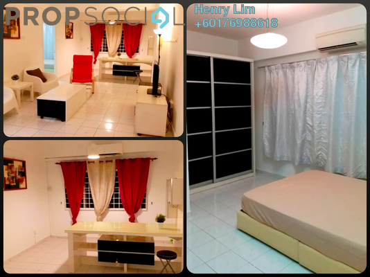 Condominium For Rent in Endah Ria, Sri Petaling Freehold Fully Furnished 3R/2B 1.7k
