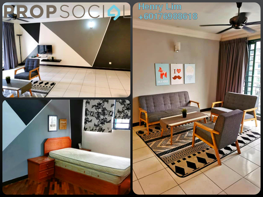 Condominium For Rent in Vista Kiara, Mont Kiara Freehold Fully Furnished 3R/2B 2.5k
