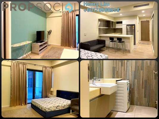 Serviced Residence For Rent in M City, Ampang Hilir Freehold Fully Furnished 0R/1B 1.7k