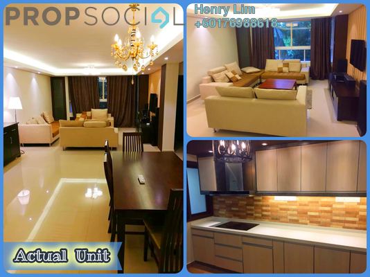 Condominium For Rent in Mont Kiara Pelangi, Mont Kiara Freehold Fully Furnished 3R/2B 2.5k