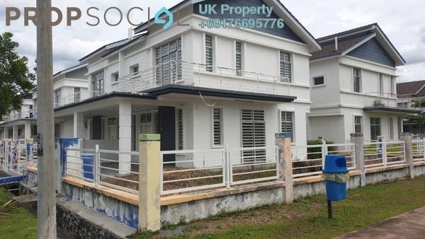 Semi-Detached For Rent in SP 9, Bandar Saujana Putra Freehold Unfurnished 4R/3B 1.7k
