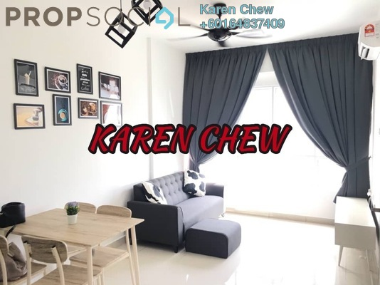 Condominium For Sale in Tropicana Bay Residences, Bayan Indah Freehold Fully Furnished 2R/1B 560k