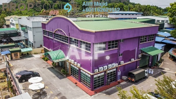 Factory For Sale in Taming Jaya Industrial Park, Balakong Freehold Unfurnished 0R/0B 8.8m