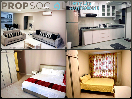 Condominium For Rent in Mont Kiara Pines, Mont Kiara Freehold Fully Furnished 3R/2B 3k