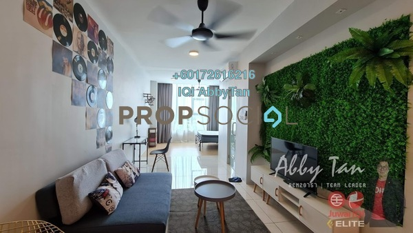 Condominium For Rent in Manhattan Suites, Penampang Freehold Fully Furnished 1R/1B 1.3k