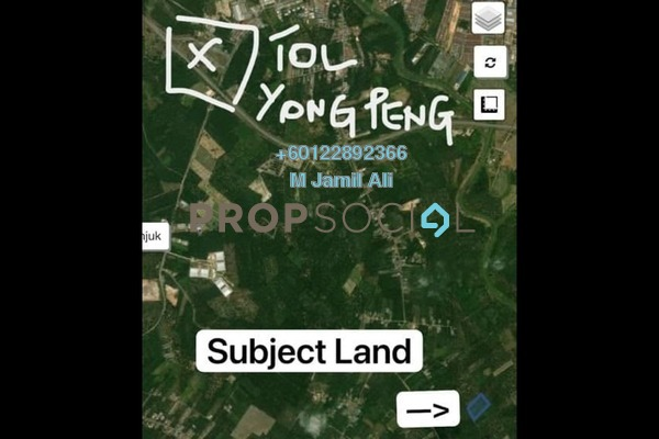 Land For Sale in Parit Abbas, Yong Peng Freehold Unfurnished 0R/0B 281k