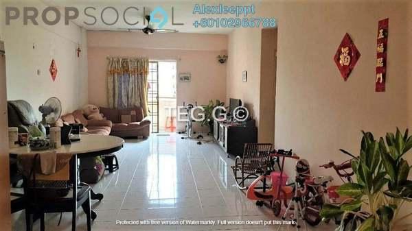 Apartment For Sale in Taman Sentosa Perdana, Klang Freehold Semi Furnished 3R/2B 260k