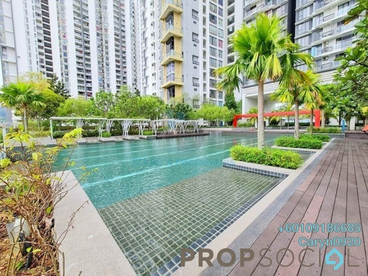 Condominium For Rent in You Vista @ You City, Batu 9 Cheras Freehold Fully Furnished 1R/1B 1.3k