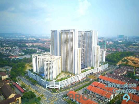 Apartment For Rent in PR1MA Homes @ Residensi Alam Damai, Alam Damai Freehold Semi Furnished 3R/2B 1.2k