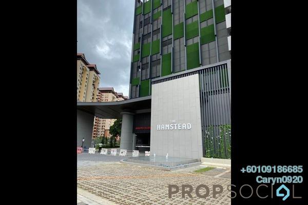 Condominium For Rent in The Hamstead, Bandar Tun Razak Freehold Semi Furnished 3R/2B 1.8k
