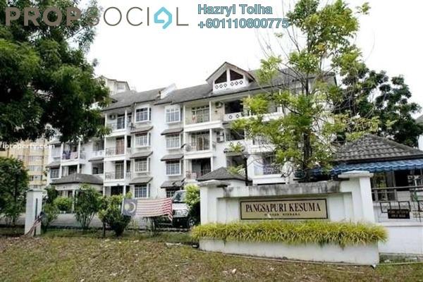 Apartment For Sale in Kesuma Apartment, Bandar Kinrara Freehold Fully Furnished 3R/2B 355k