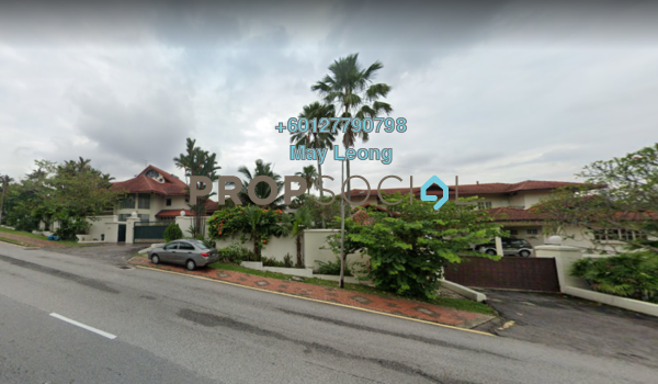 Bungalow For Sale in Lucky Garden, Bangsar Freehold Semi Furnished 7R/8B 15m
