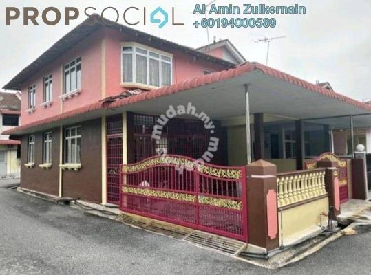 Terrace For Rent in Taman Bertam Indah, Penang Freehold Semi Furnished 4R/3B 1k