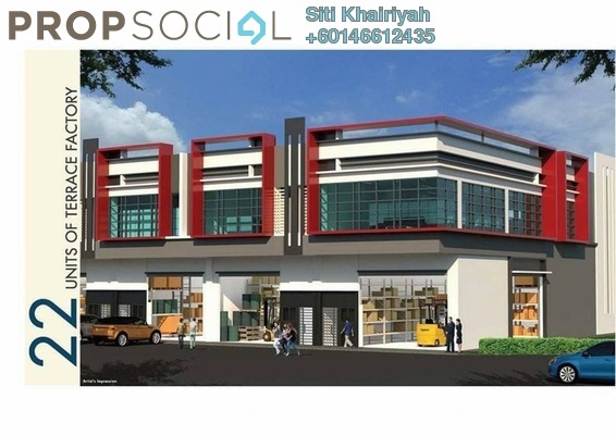 Factory For Sale in Jenjarom, Selangor Freehold Unfurnished 0R/0B 1.5m