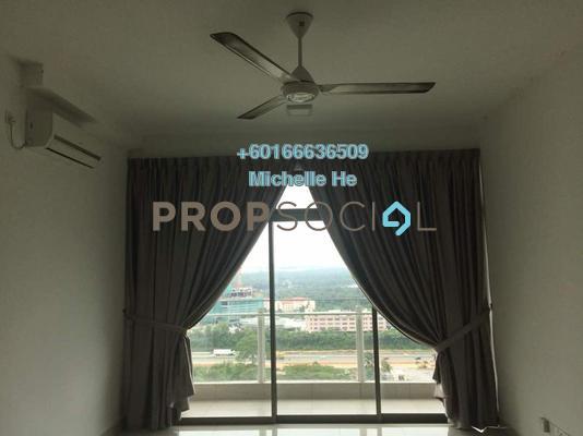 Apartment For Sale in Parc Regency, Johor Bahru Freehold Semi Furnished 2R/2B 310k