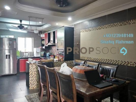 Terrace For Sale in Taman Puncak Jalil, Bandar Putra Permai Freehold Semi Furnished 4R/3B 599k
