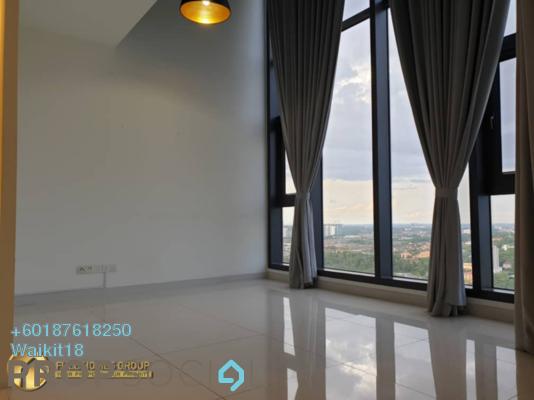 Condominium For Sale in Bora Residences, Danga Bay Freehold Semi Furnished 2R/2B 730k
