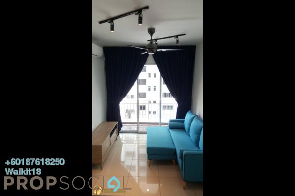 Condominium For Sale in Jalan Station, Bandar Johor Bahru Freehold Fully Furnished 1R/1B 275k