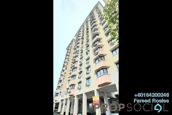 Apartment For Sale in Desa Aman Puri, Kepong Freehold Semi Furnished 3R/2B 303k