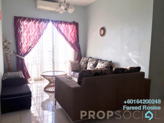 Apartment For Sale in Vista Pinggiran, Bandar Putra Permai Freehold Semi Furnished 3R/2B 345k