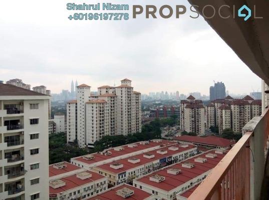Apartment For Sale in Danau Kota, Setapak Freehold Semi Furnished 3R/2B 180k
