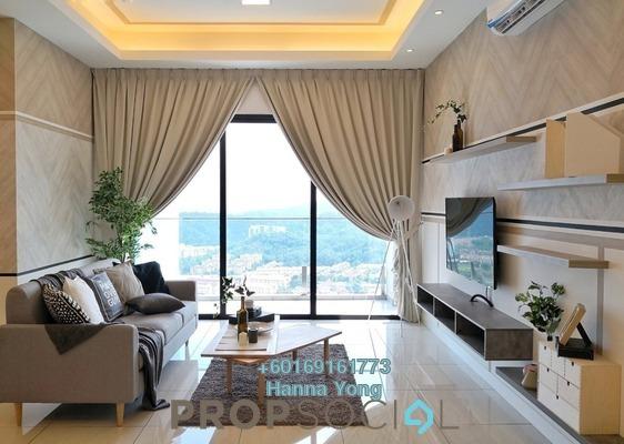 Condominium For Rent in Sky Condominium, Bandar Puchong Jaya Freehold Fully Furnished 3R/3B 3.8k