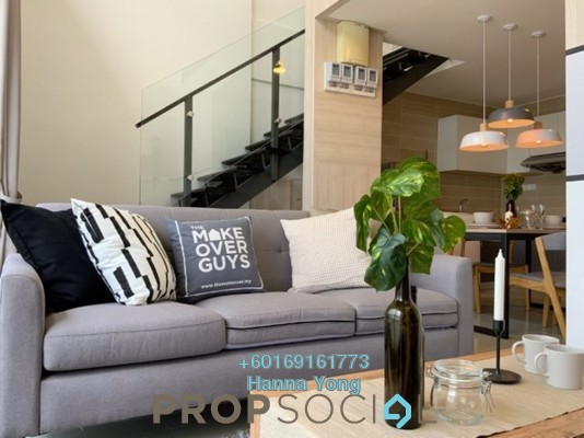 Duplex For Rent in D'Latour, Bandar Sunway Freehold Fully Furnished 4R/2B 3.5k