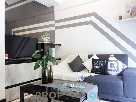 SoHo/Studio For Rent in 10 Semantan, Damansara Heights Freehold Fully Furnished 1R/1B 1.5k