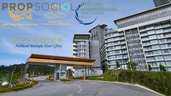 Serviced Residence For Sale in Grand Ion Majestic, Genting Highlands Freehold Fully Furnished 2R/1B 685k