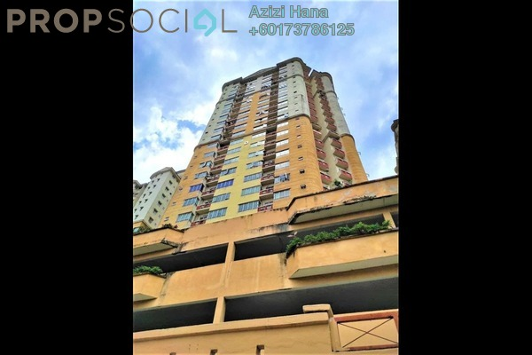 Apartment For Sale in Melur Apartment, Sentul Freehold Fully Furnished 3R/2B 450k