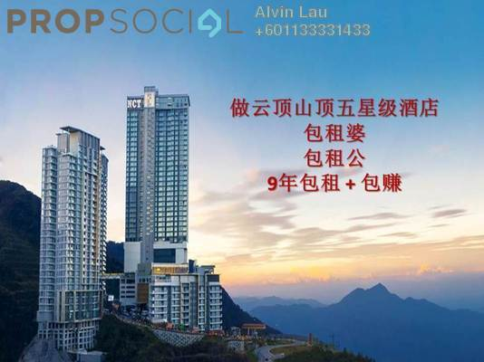 SoHo/Studio For Sale in Grand Ion Majestic, Genting Highlands Freehold Fully Furnished 1R/1B 451k